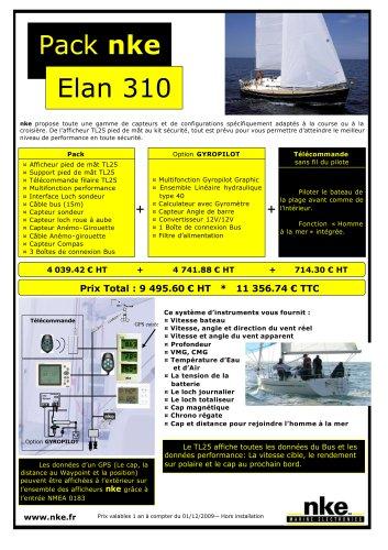 Packs nke - Elan