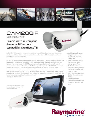 CAM200IP - Day/Night Marine IP Camera