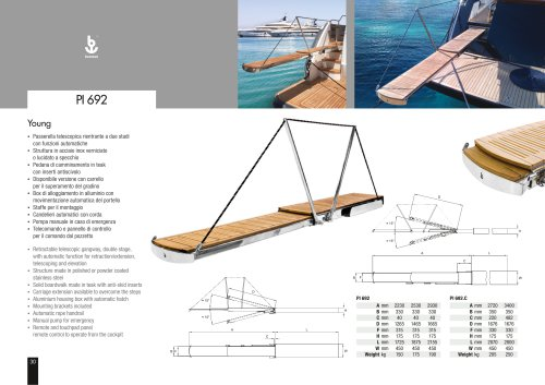 Besenzoni Gangway PI 692 Young