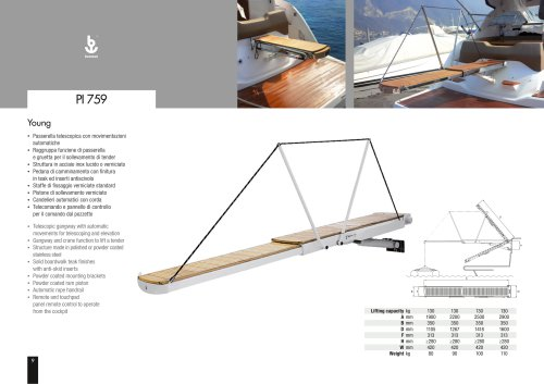 Besenzoni Gangway PI 759 Young