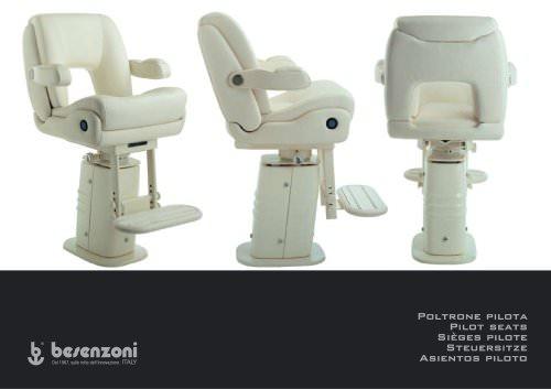 Catalogue - Pilot Seats