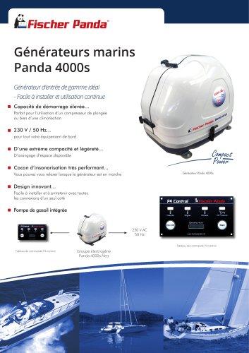 Générateurs marins Panda 4000s