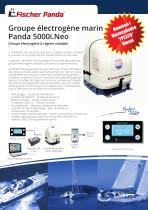 Groupe électrogène marin Panda 5000i.Neo