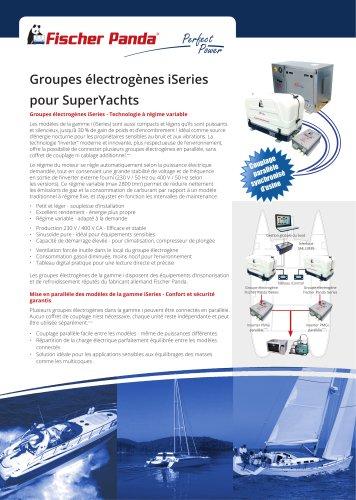 Groupes électrogènes iSeries pour SuperYachts
