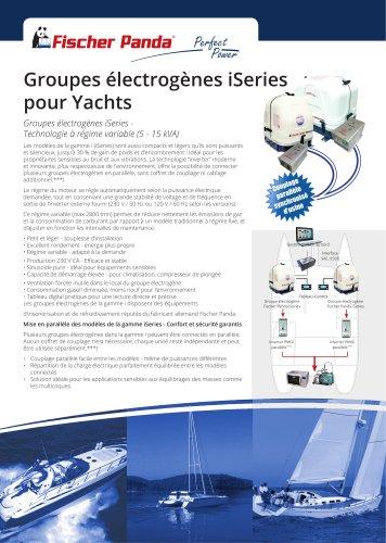 Groupes électrogènes iSeries pour Yachts