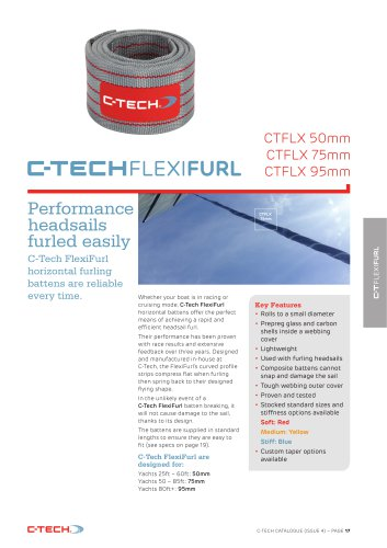 CT Flexifurl battens