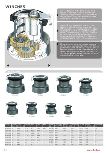 Holt Winches Catalogue