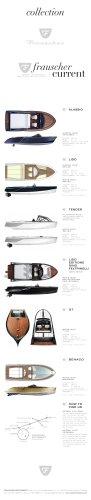 Frauscher collection folder - the complete range of all Frauscher models