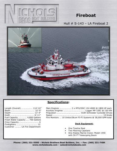 LA Fireboat 2