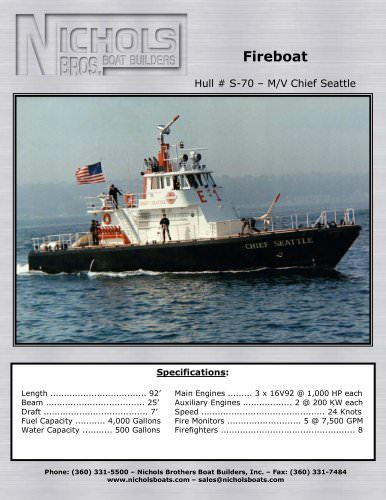 M/V Chief Seattle