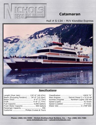 M/V Klondike Express - CATAMARAN