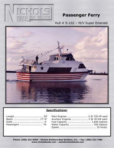 S-102 M/V Super Emerald