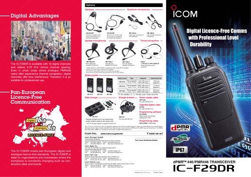 IC-F29DR
