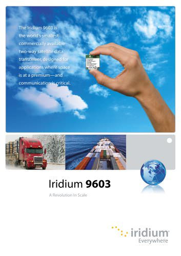 Iridium 9603 Brochure