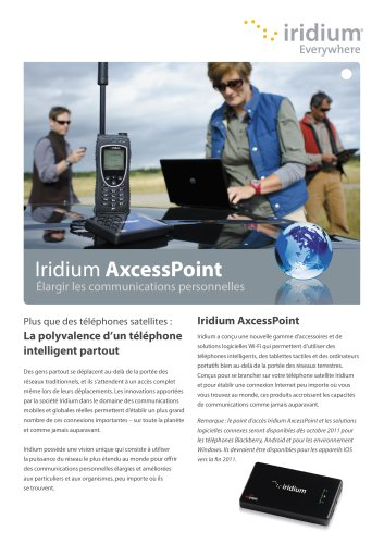 Iridium AxcessPoint Brochure