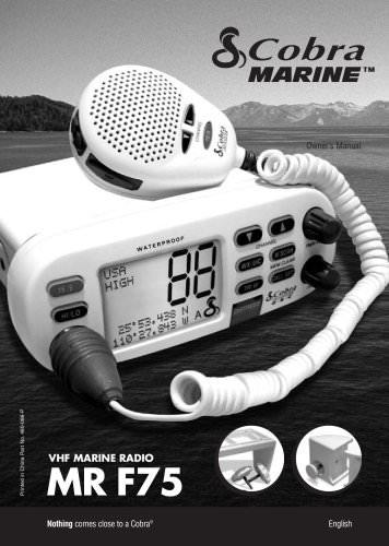 MR F75 manual