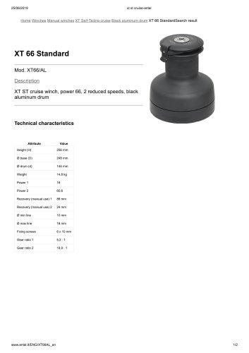 XT 66 Standard