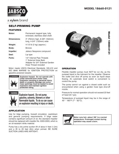 18660 Technical Datasheet