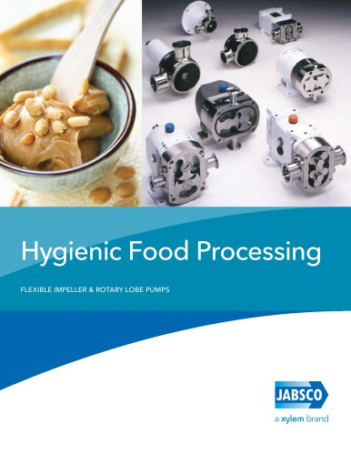 Jabsco Hygienic Food Processing Brochure