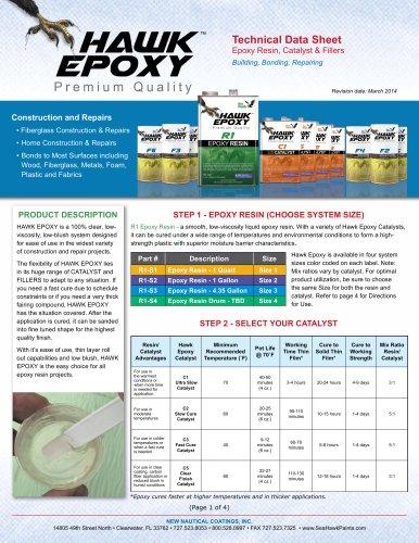 Hawk Epoxy C5 Clear Finish Catalyst