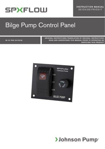Bilge Pump Control Panel