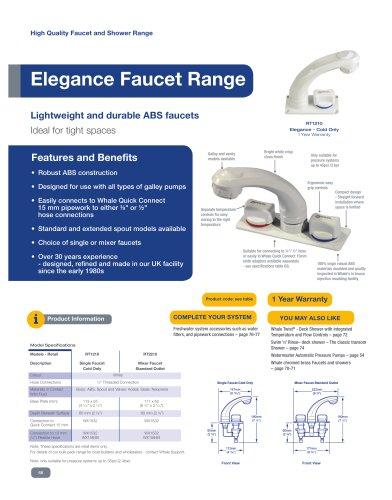 Elegance Faucet Range