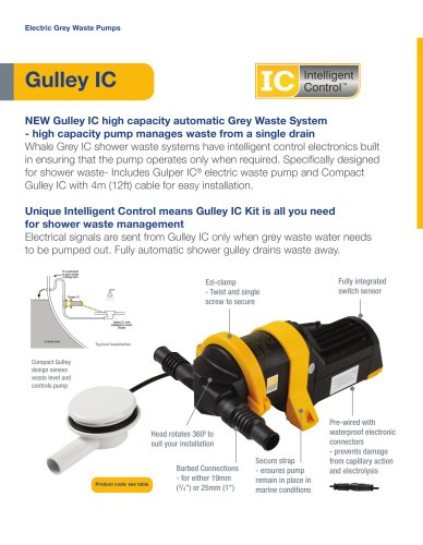 Gulley IC - Complete Shower Waste System