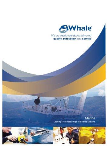 Whale Marine Brochure (English)