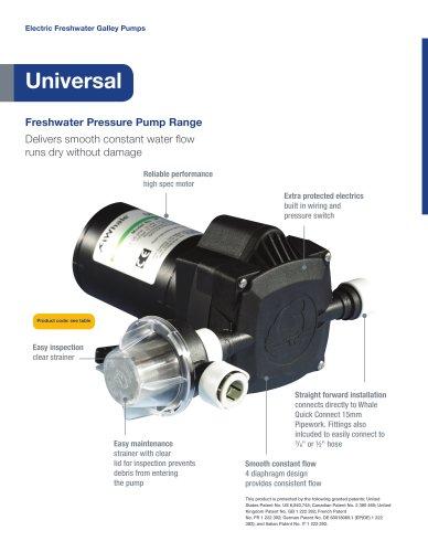 Whale Universal Pressure Pump Range