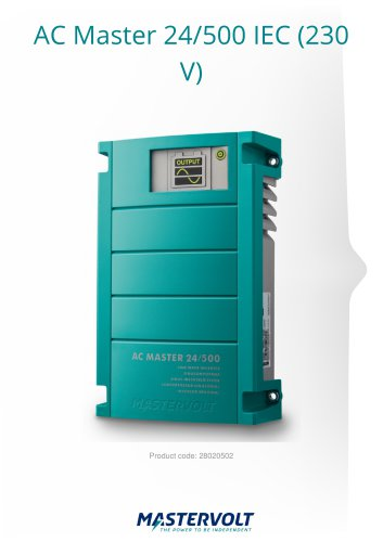 AC Master 24/500 IEC (230)