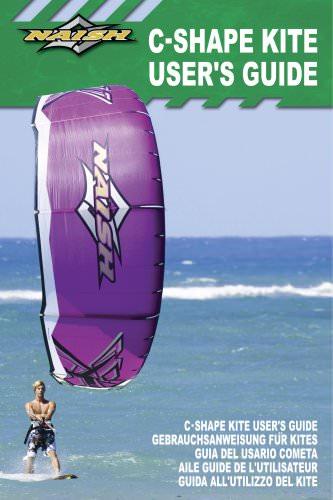 C-Shape Kite guide d'utilisation