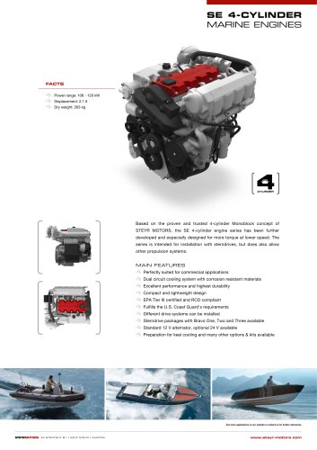 SE-4cyl series - product leaflet