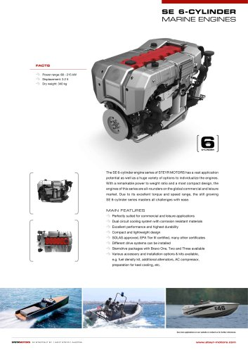 SE-6cyl series - product leaflet