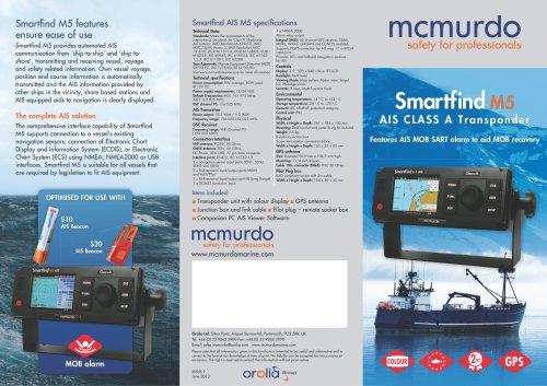 Smartfind M5 AIS CLASS A Transponder