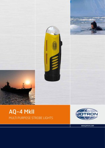 Brochure AQ-4 MK II
