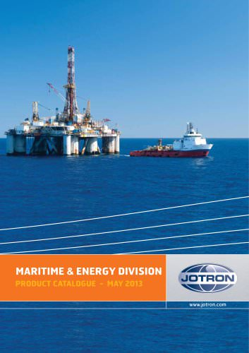 Maritime & Energy Product Catalogue 2013