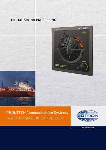 PHONTECH Communication Systems SR 8300 MkII SOUND RECEPTION SYSTEM