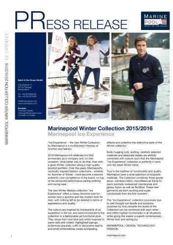 Marinepool Winter Collection 2015/2016