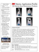 3M Marine Boat Maintenance Products