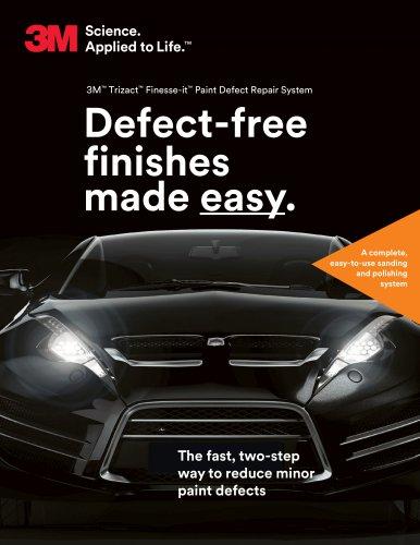 3M™ Trizact™ Finesse-it™ Paint Defect Repair System
