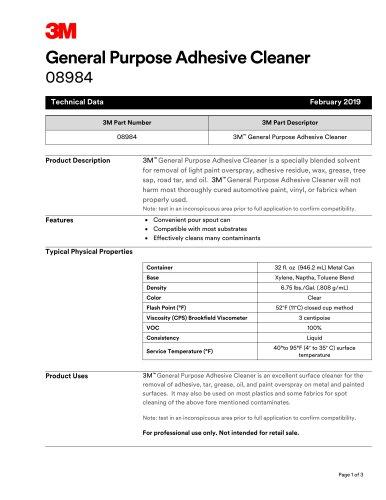 General Purpose Adhesive Cleaner