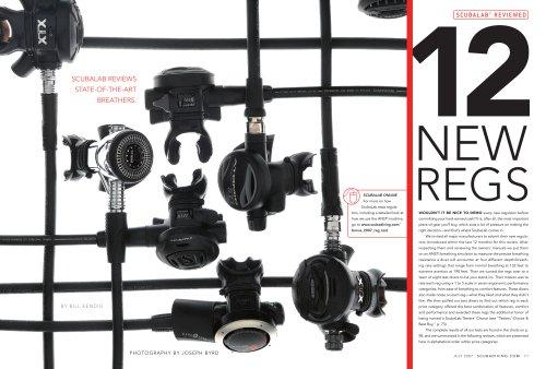 SCUBALAB REVIEWED 12 New Regs