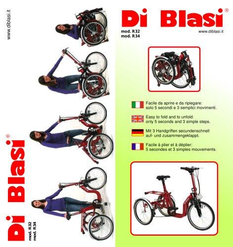 Tricycles Pliables R32 et R34
