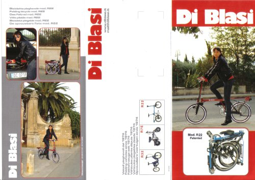 Vélo pliable R22