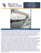 EZ Deck Crane Folding Hydraulic Double Telescopic Crane