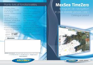Catalogue MaxSea TimeZero