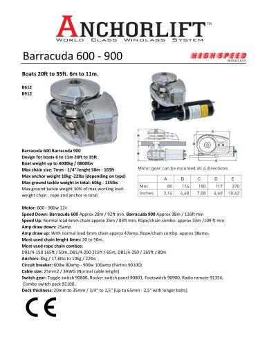 Barracuda 600