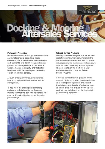 Docking & Mooring Aftersales Service