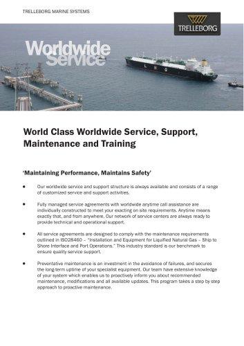 Trelleborg SeaTechnikTM World Wide Service