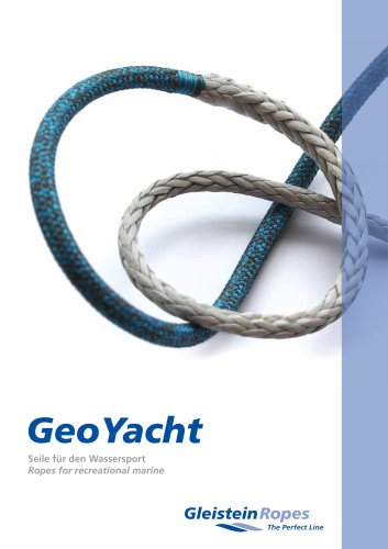 GeoYacht Ropes for recreational marine